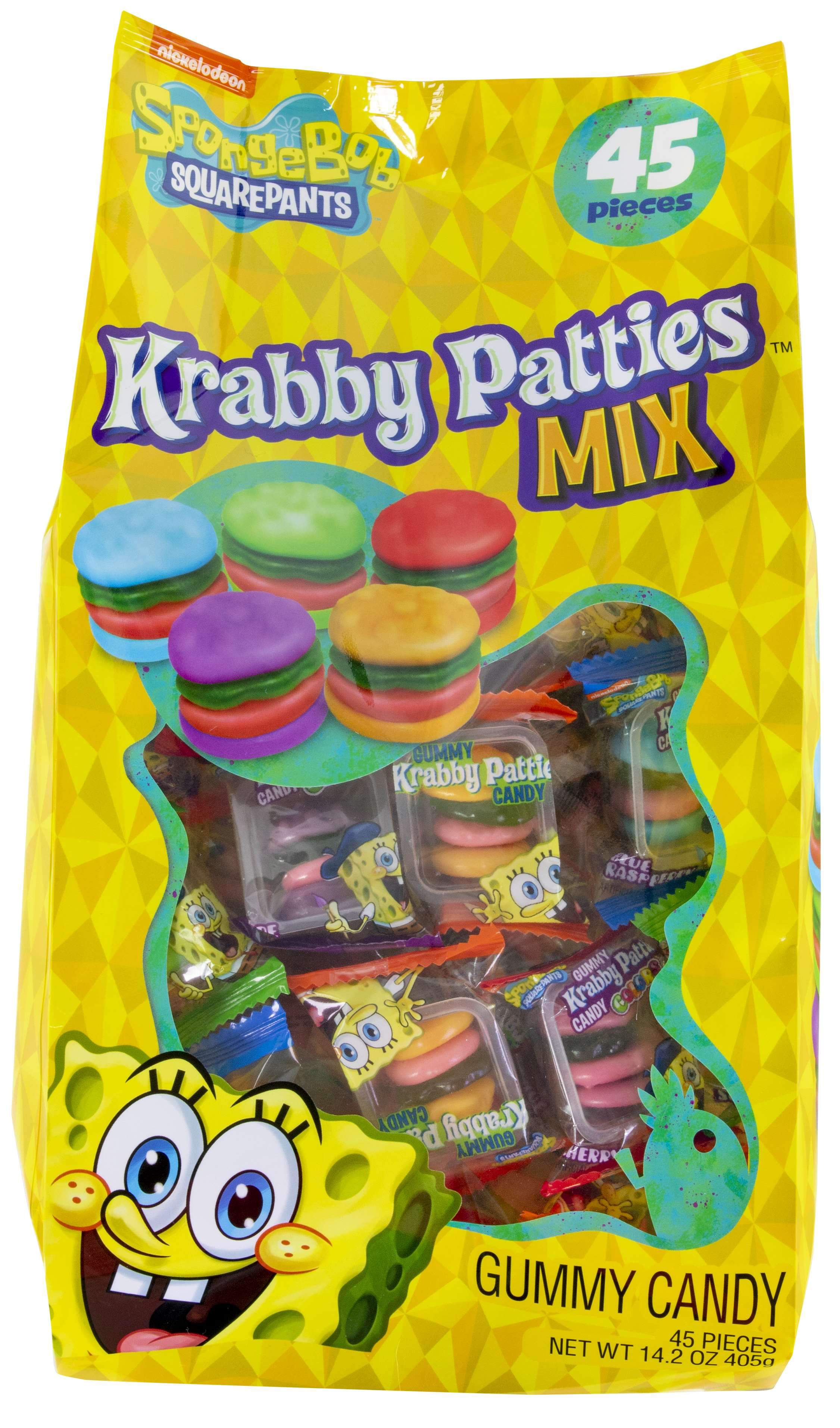 Krabby Patties Gummy Candy Frankford Candy Mix 14.2 Ounce