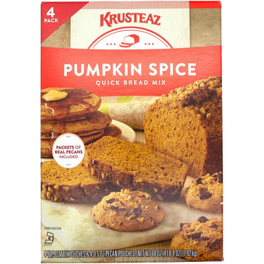 Krusteaz Pumpkin Spice Quick Bread Mix Krusteaz 68 Ounce