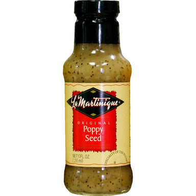 La Martinique Salad Dressings Snackathon Foods Original Poppy Seed 10 Fluid Ounce