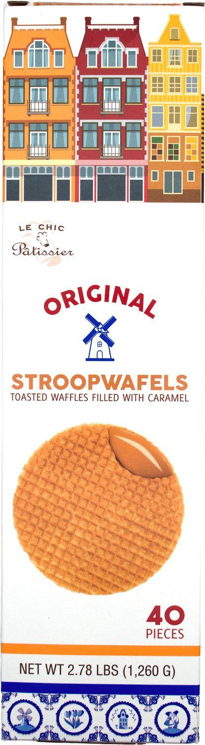 Le Chic Patissier Stroopwafels Le Chic Patissier Original 40 Pieces