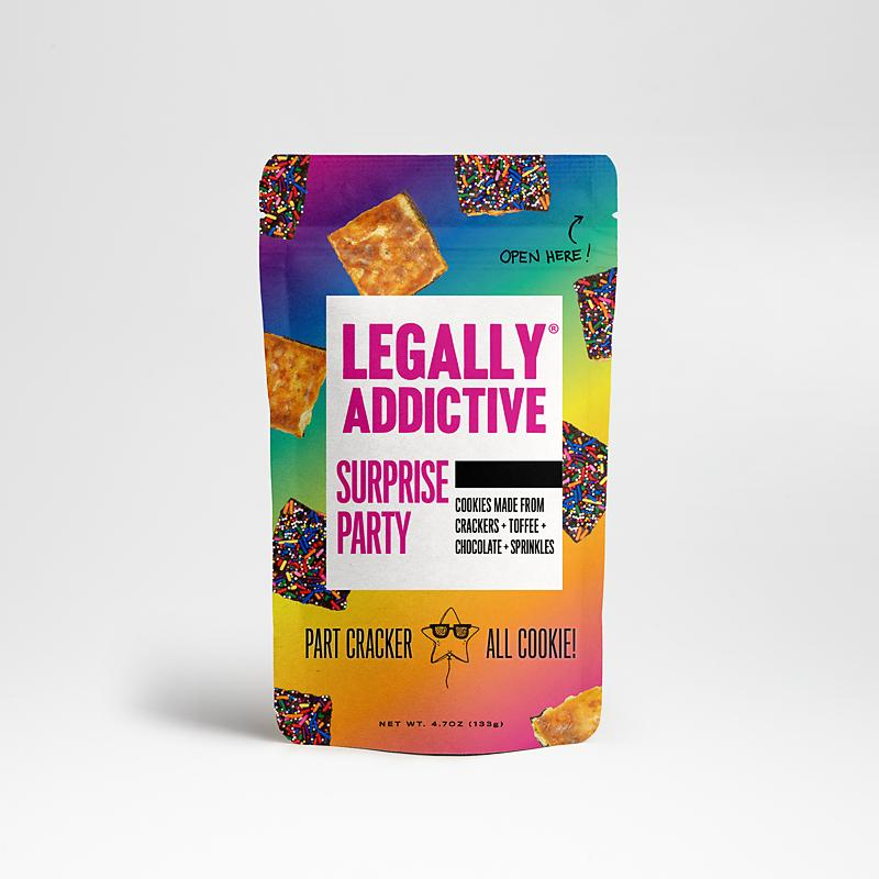 Legally Addictive Cracker Cookies Meltable Legally Addictive Foods Surprise Party 4.7 Ounce