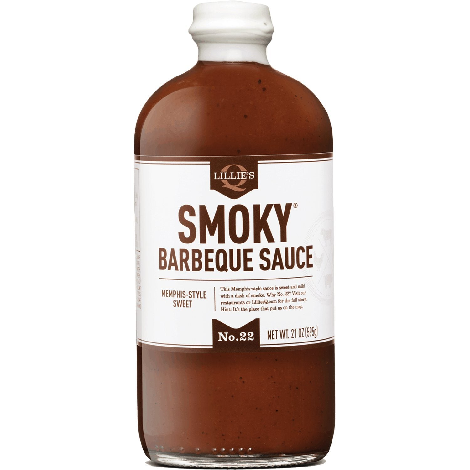 Lillie's Q Southern Barbeque Sauce Lillie's Q Smoky Memphis-style 21 Ounce