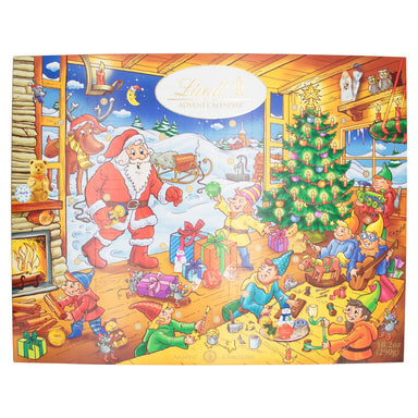 Lindt Advent Calendar Meltable Lindt Classic Santa 10.2 Ounce