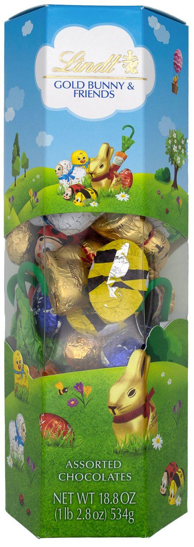 Lindt Gold Bunny & Friends, 18.8 Ounce Lindt