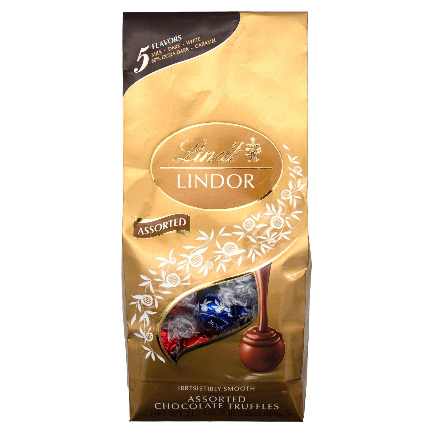 Lindt LINDOR Truffles Meltable Lindt Assorted 21.2 Ounce