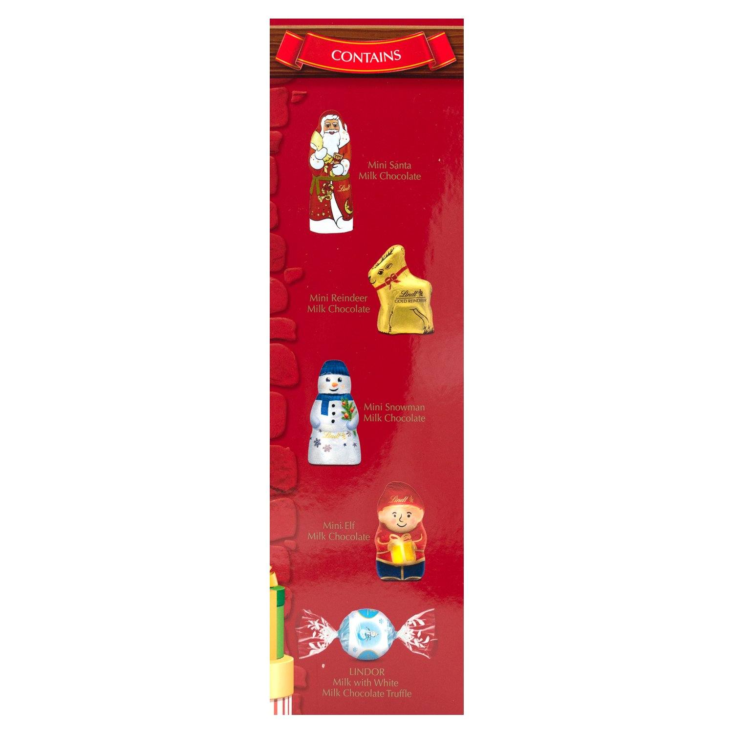 Lindt North Pole Friends Assorted Chocolate Meltable Lindt