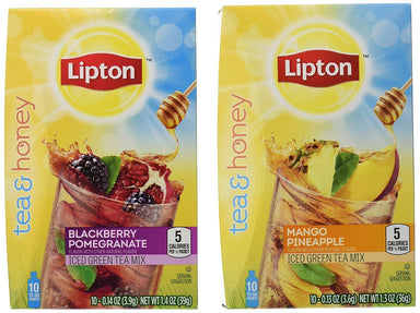 Lipton Iced Green Tea Mix To-Go Packets Lipton