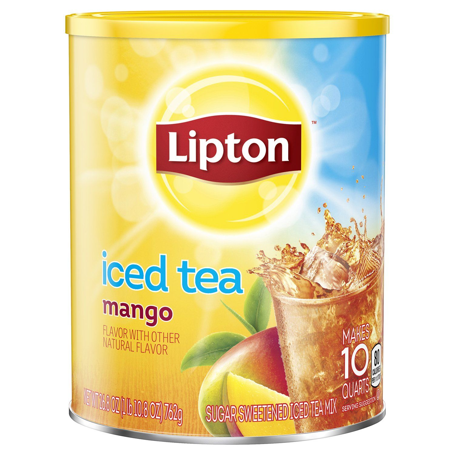 Lipton Iced Tea Mix Lipton Mango 23.6 Ounce