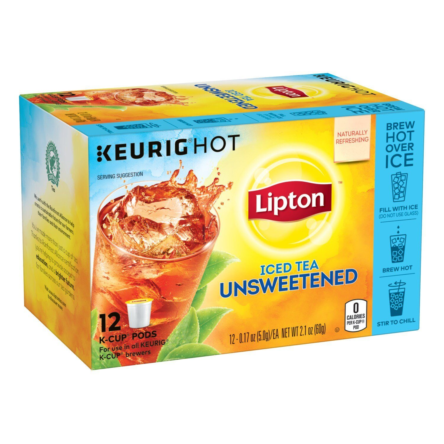 Lipton Tea K-Cups Lipton Iced Tea Unsweetened 12 Count