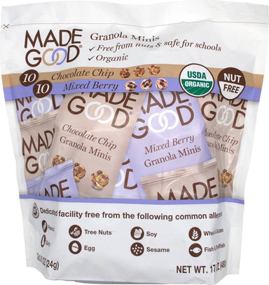 Made Good Granola Minis Made Good Foods Variety 0.85 Oz-20 Packs