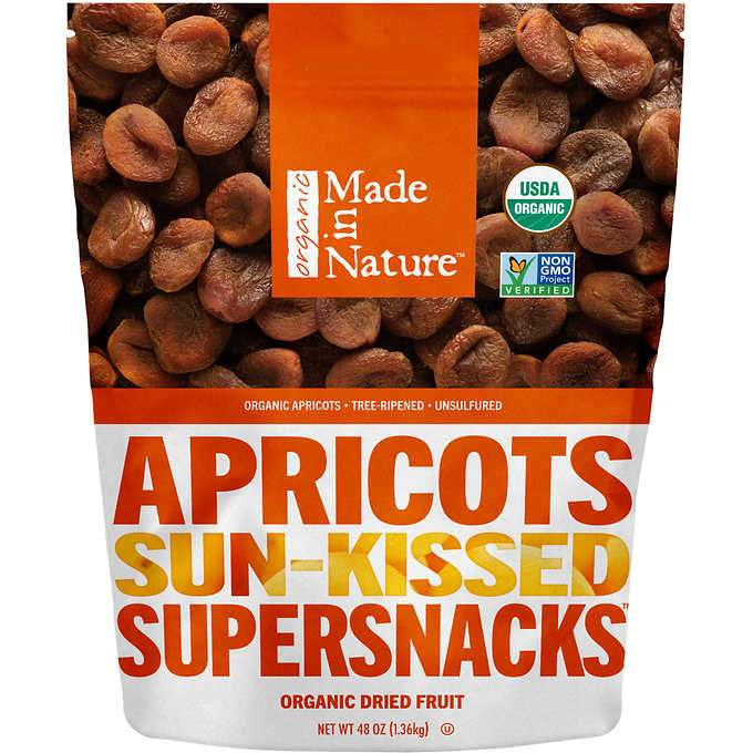 Made In Nature Organic Dried Apricots Made In Nature 48 Ounce