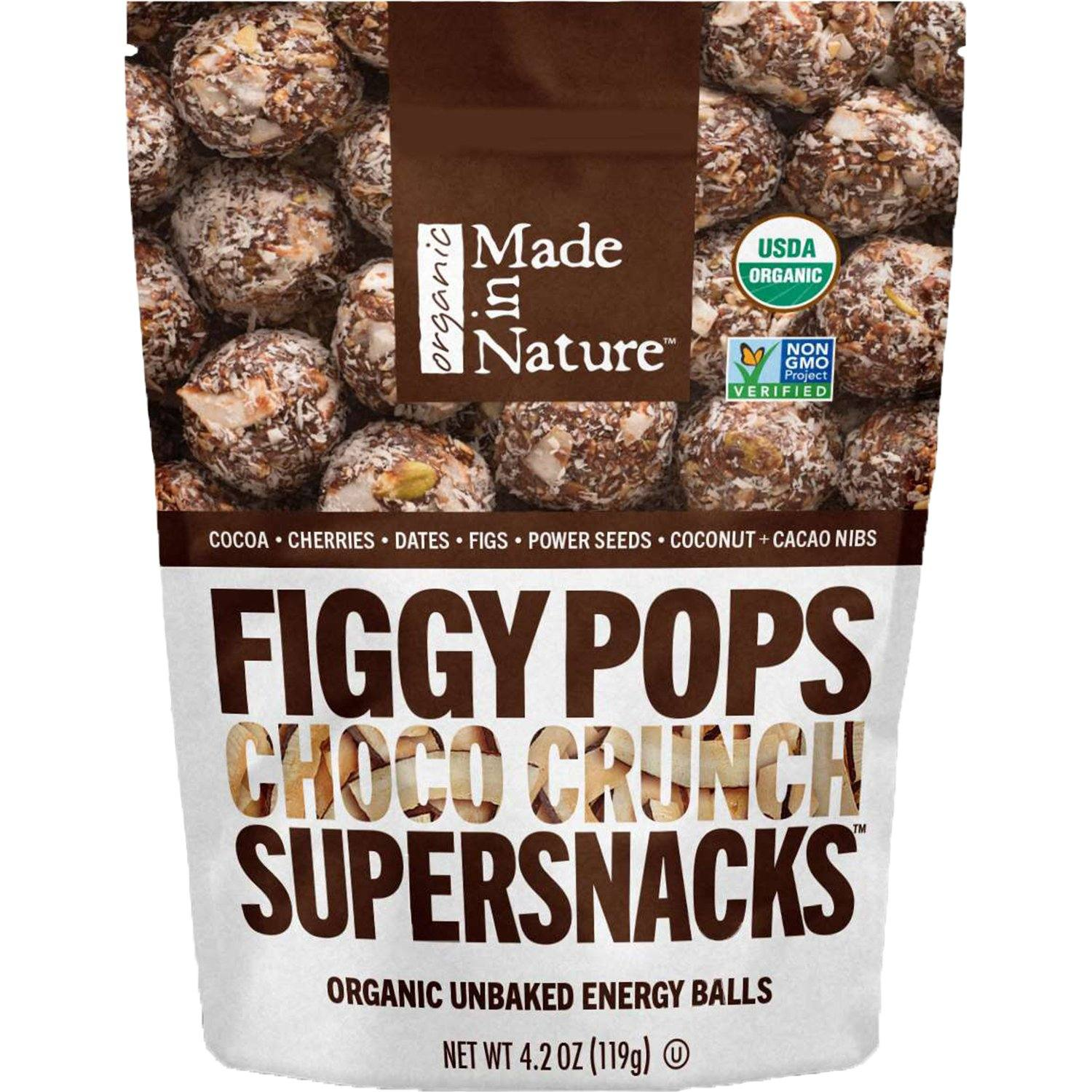 Made In Nature Organic Figgy Pops Made In Nature Choco Crunch 4.2 Ounce