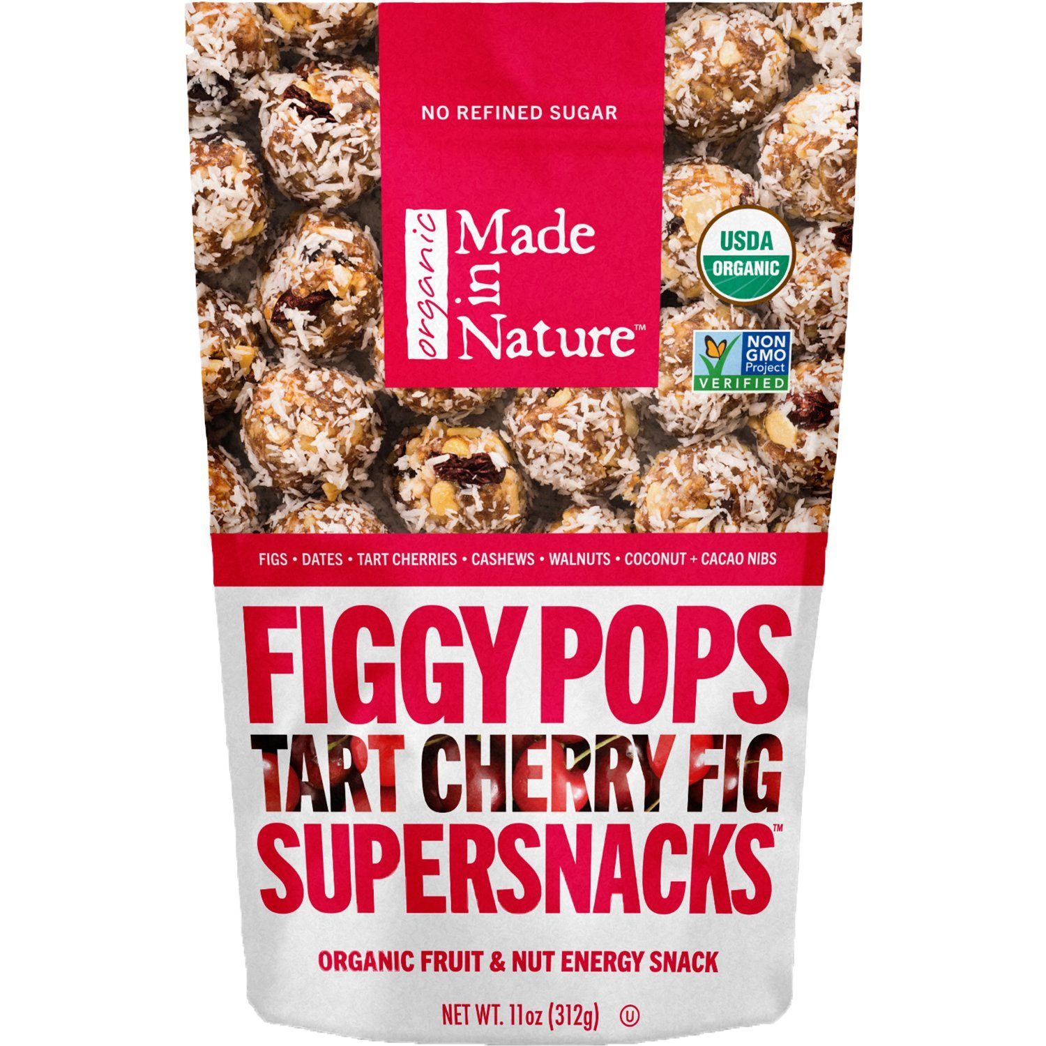 Made In Nature Organic Figgy Pops Made In Nature Tart Cherry 11 Ounce