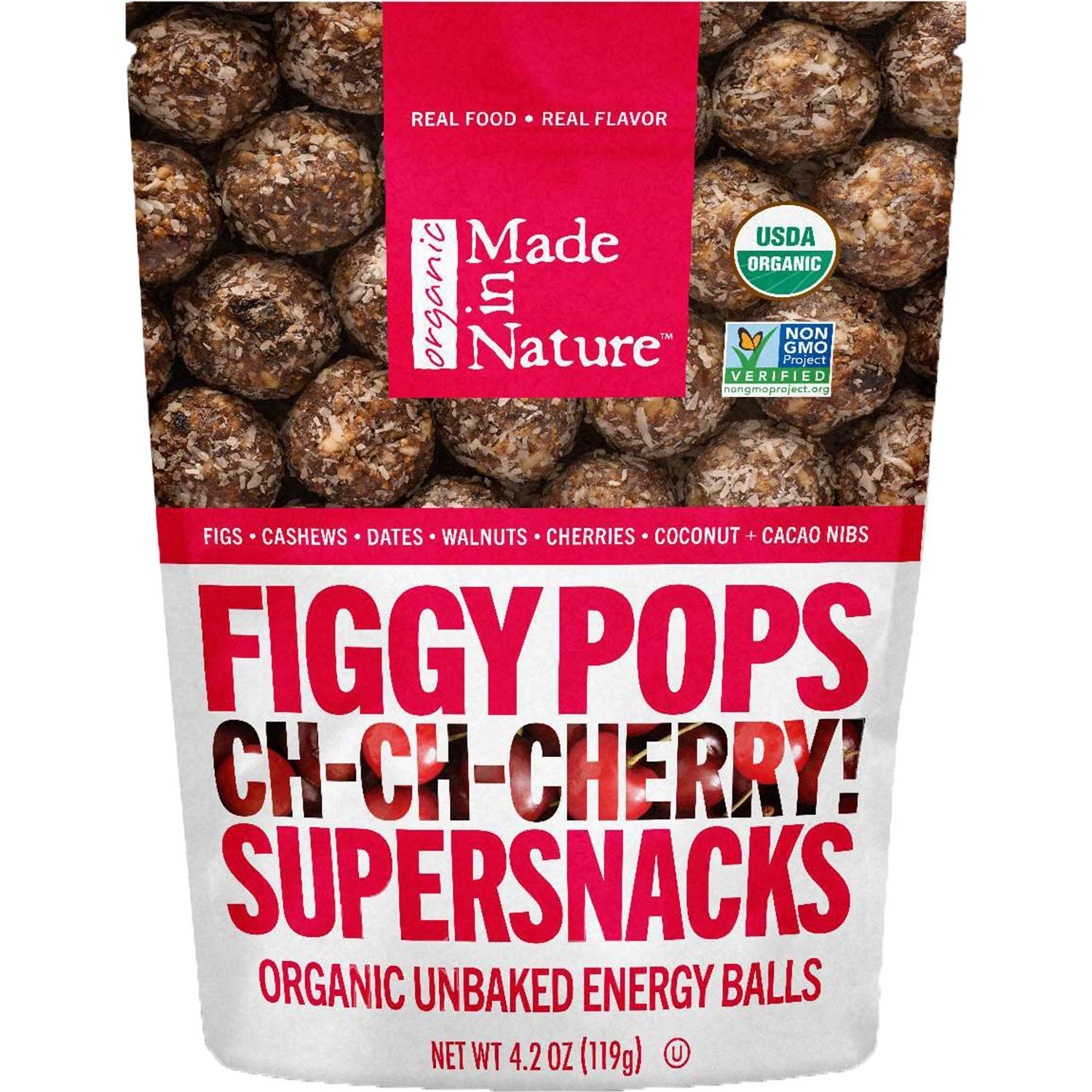 Made In Nature Organic Figgy Pops Made In Nature Tart Cherry 4.2 Ounce