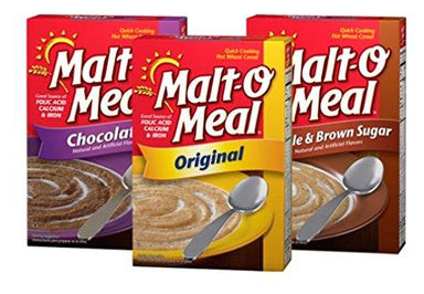 Malt-O-Meal Hot Cereal Malt-O-Meal