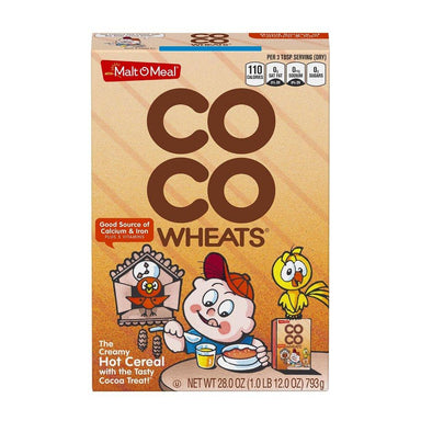 Malt-O-Meal Hot Cereal Malt-O-Meal Coco Wheats 28 Ounce
