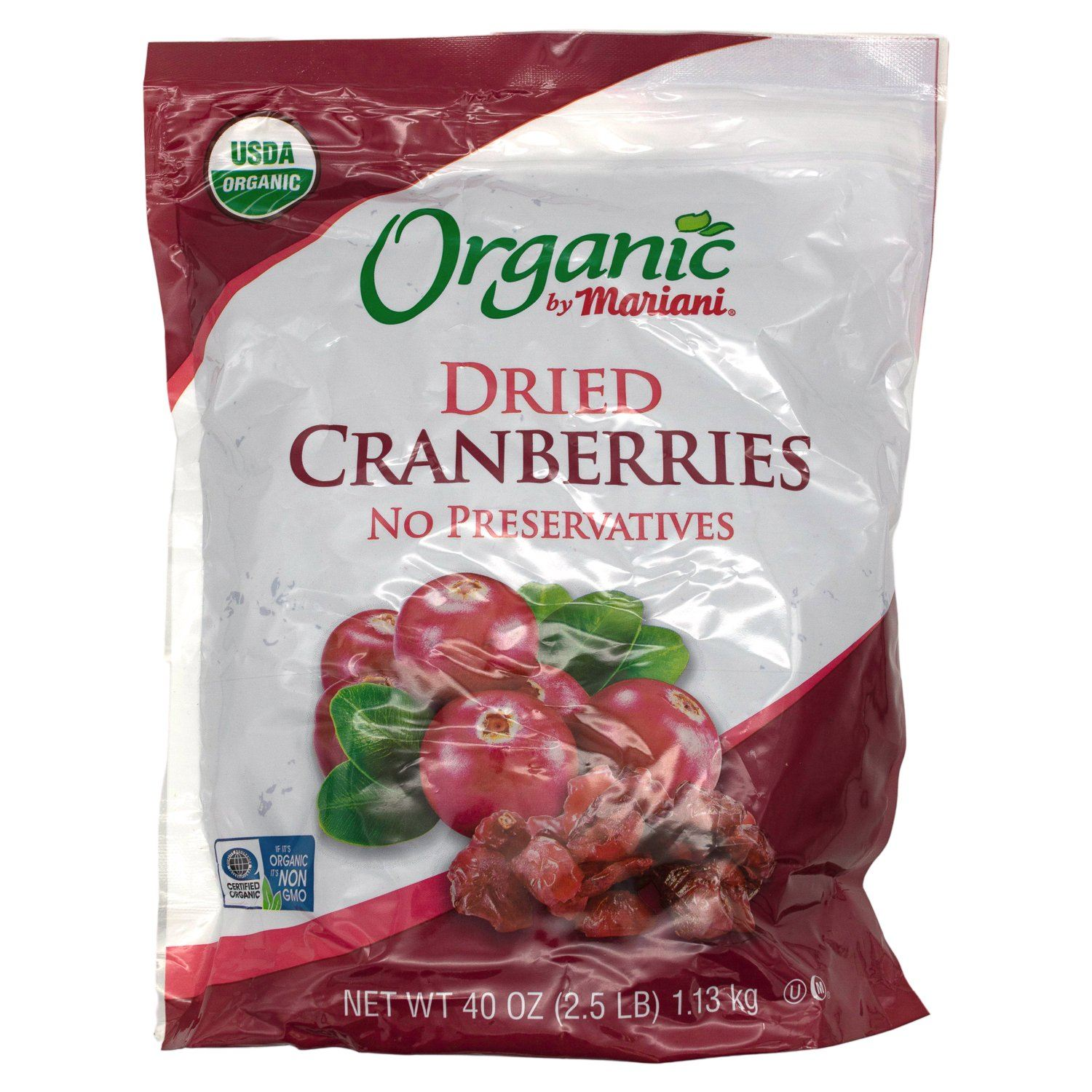 Mariani Organic Dried Cranberries Mariani 40 Ounce