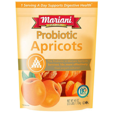 Mariani Probiotic Fruits Mariani Apricots 40 Ounce