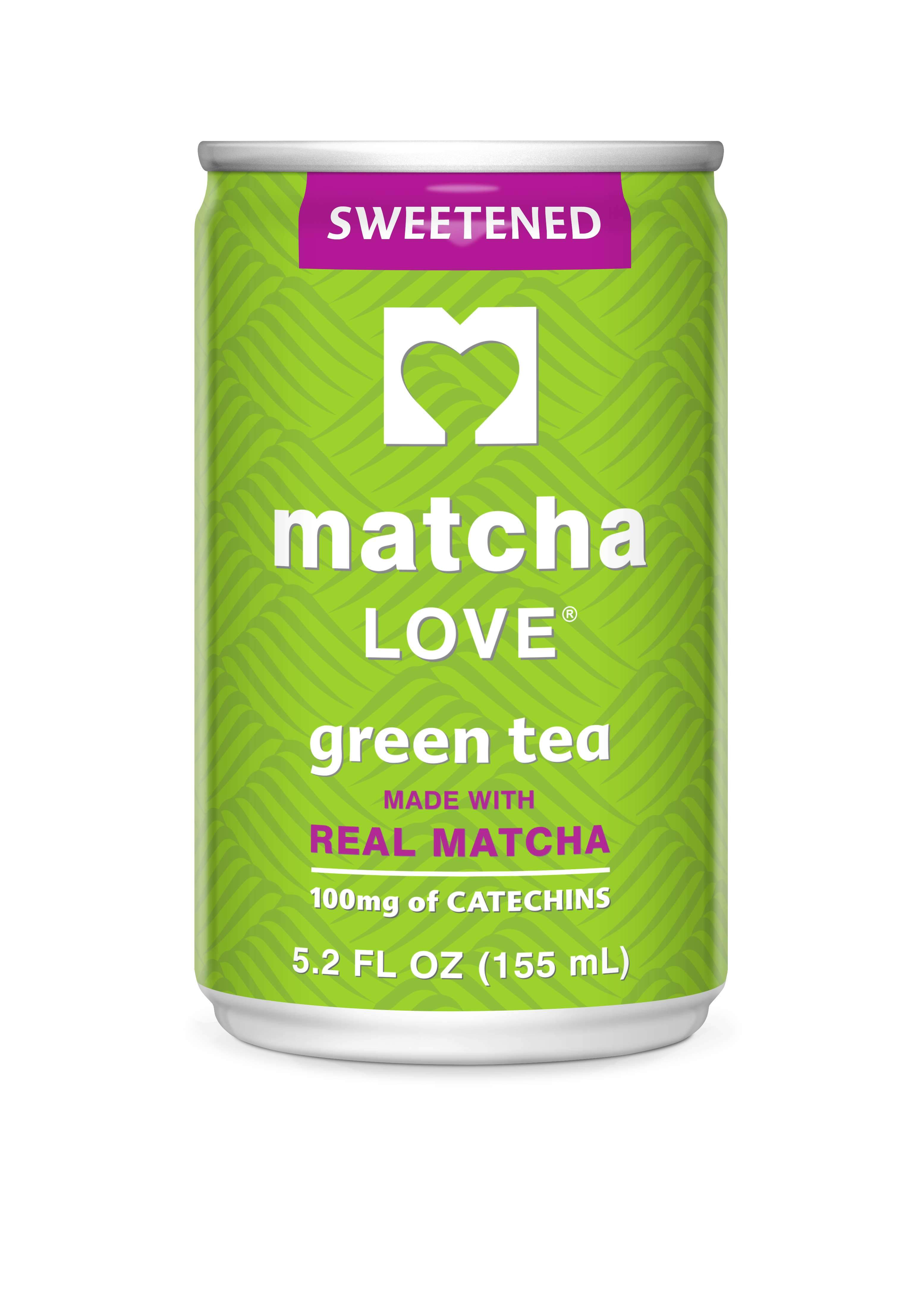 matcha LOVE Energy Ito En Sweetened 5.2 Fluid Ounce