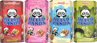 Meiji Hello Panda Cookie Meiji