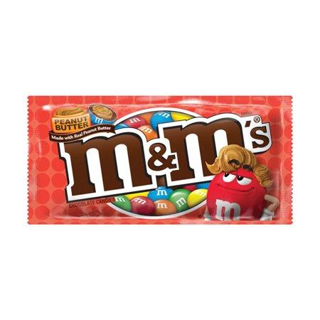 M&M's Chocolate Candies M&M's Peanut Butter 1.63 Ounce