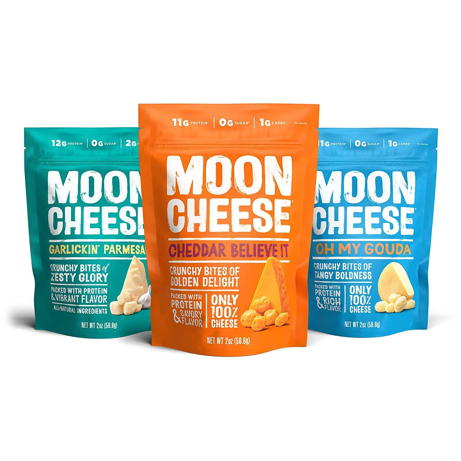 Moon Cheese Cheese Snacks Moon Cheese