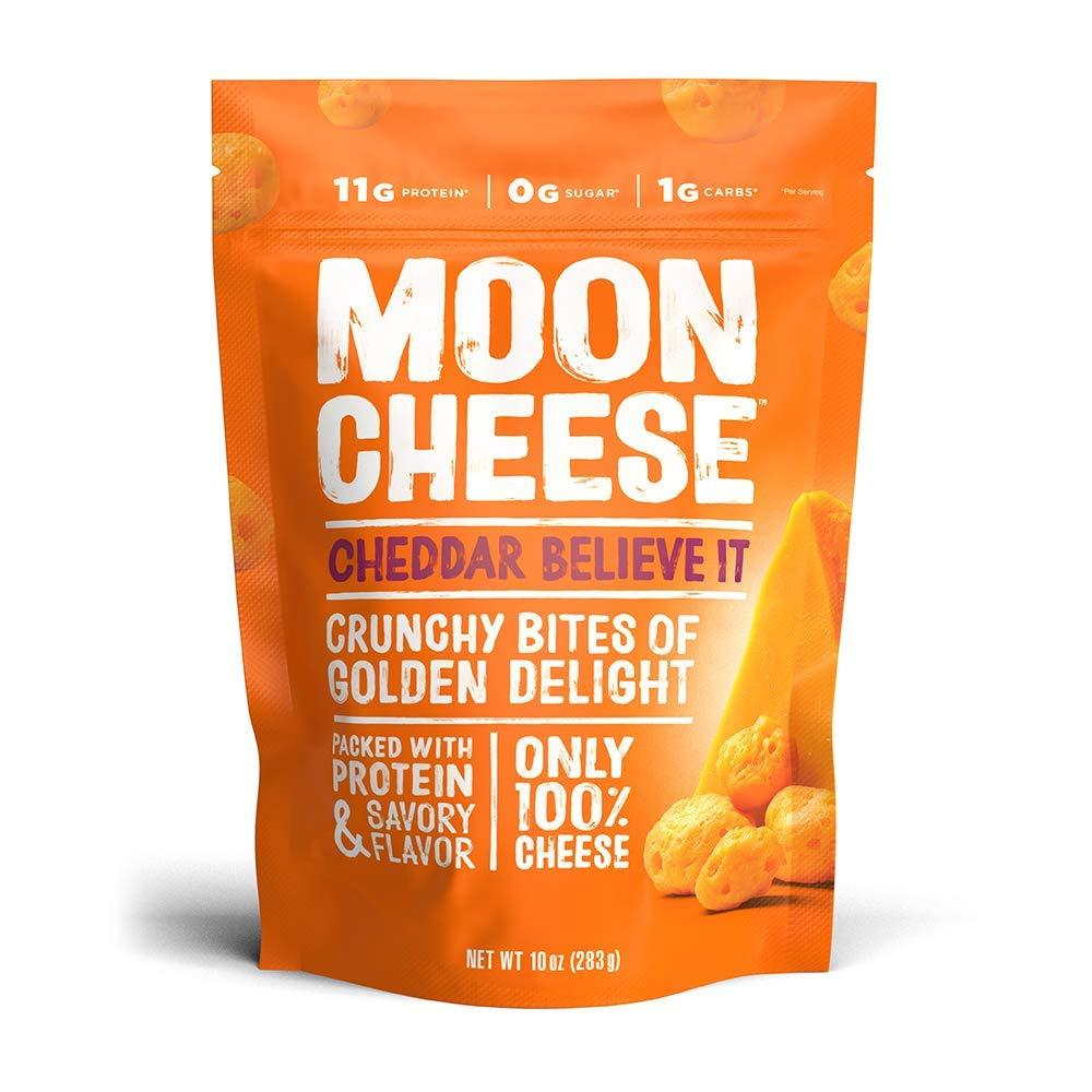 Moon Cheese Cheese Snacks Moon Cheese Cheddar Believe It 10 Ounce
