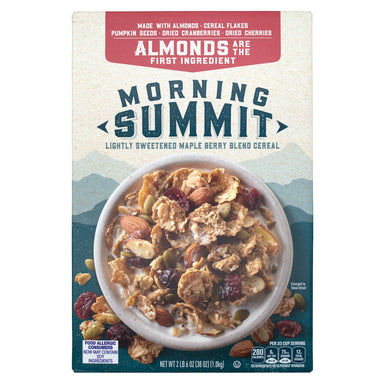 Morning Summit Lightly Sweetened Maple Berry Blend Cereal Morning Summit 38 Ounce
