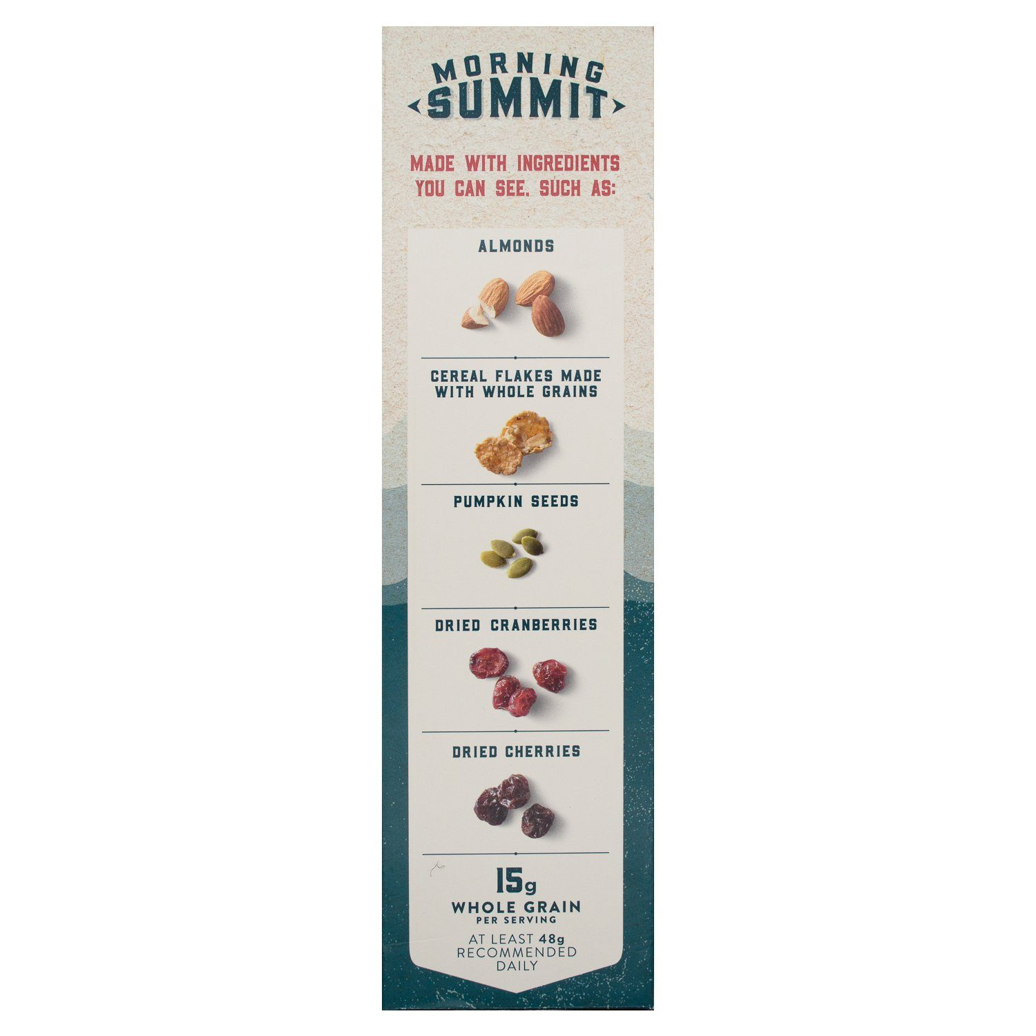 Morning Summit Lightly Sweetened Maple Berry Blend Cereal Morning Summit