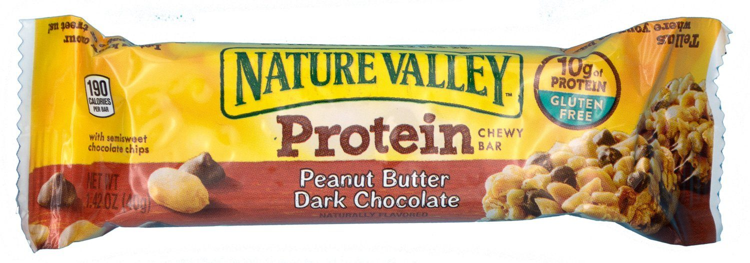 Nature Valley Peanut Butter Dark Chocolate Protein Chewy Bars, 1.42 Ounce Nature Valley