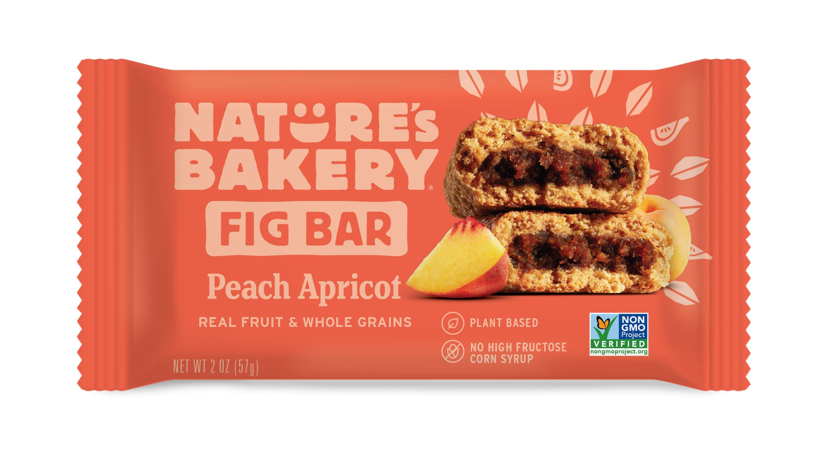 Nature's Bakery Fig Bar Nature's Bakery Peach Apricot 2 Ounce