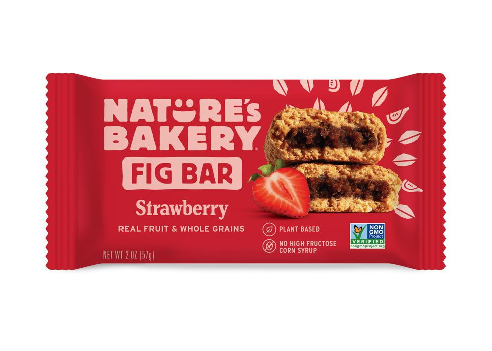 Nature's Bakery Fig Bar Nature's Bakery Strawberry 2 Ounce