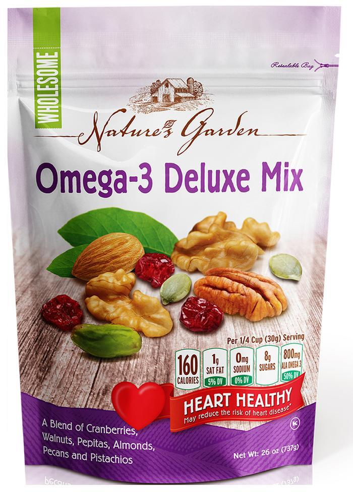 Nature's Garden Trail Mix Nature's Garden Omega-3 26 Ounce