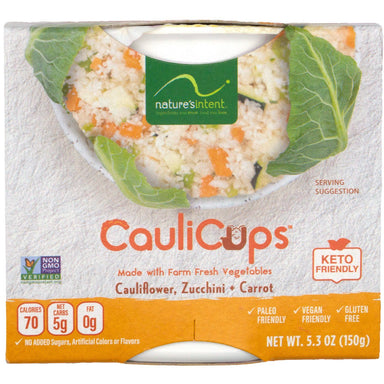 Nature's Intent CauliCups Nature's Intent 5.3 Ounce