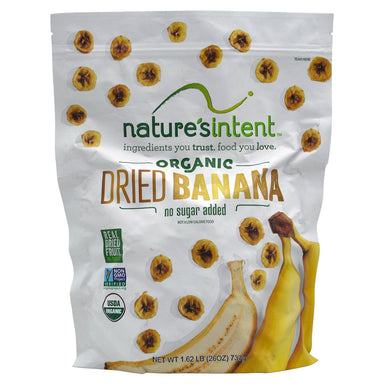 Nature's Intent Dried Bananas Nature's Intent Organic 26 Ounce