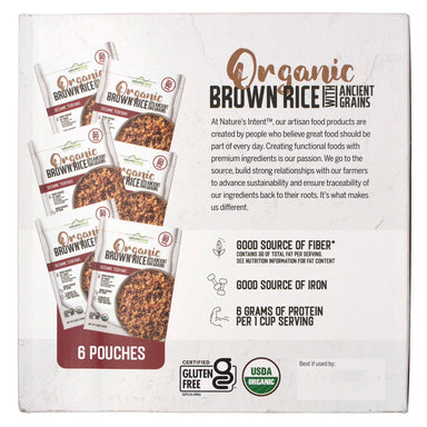 Nature's Intent Organic Brown Rice with Ancient Grains Nature's Intent
