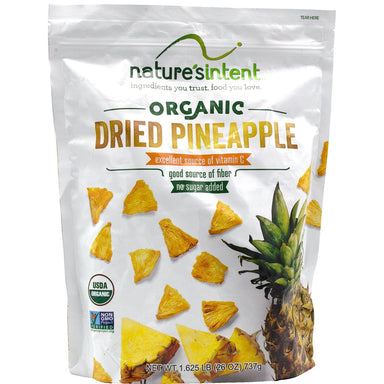 Nature's Intent Organic Dried Pineapple Nature's Intent 26 Ounce