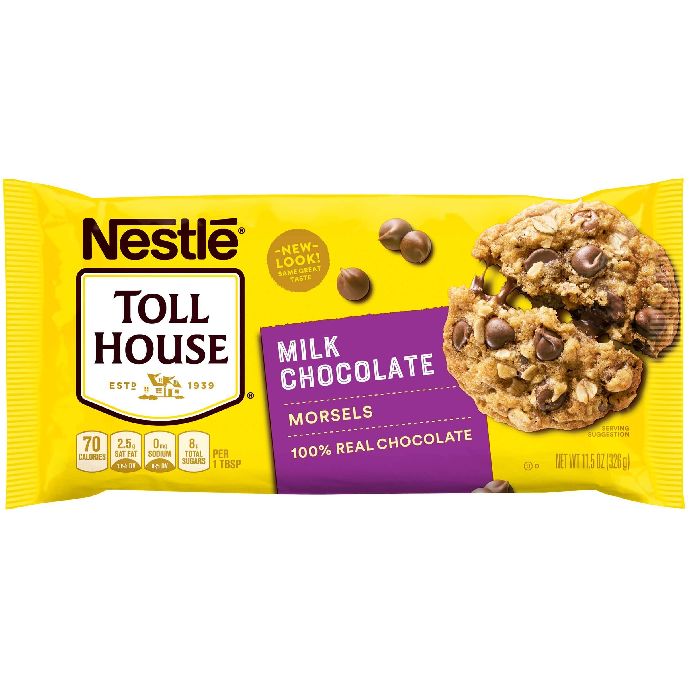 Nestlé Toll House Baking Morsels Toll House Milk Chocolate 11.5 Ounce