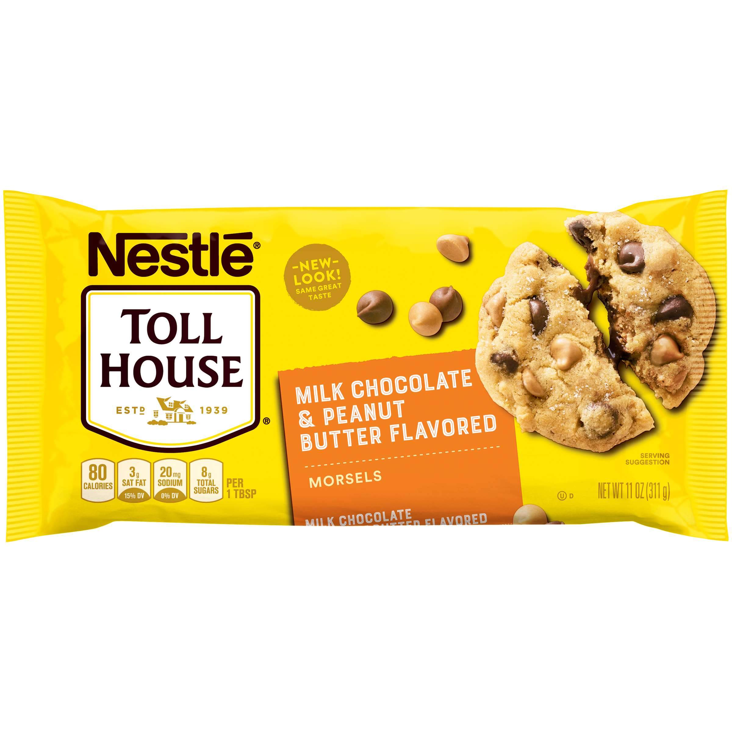 Nestlé Toll House Baking Morsels Toll House Peanut Butter & Milk Chocolate 11 Ounce