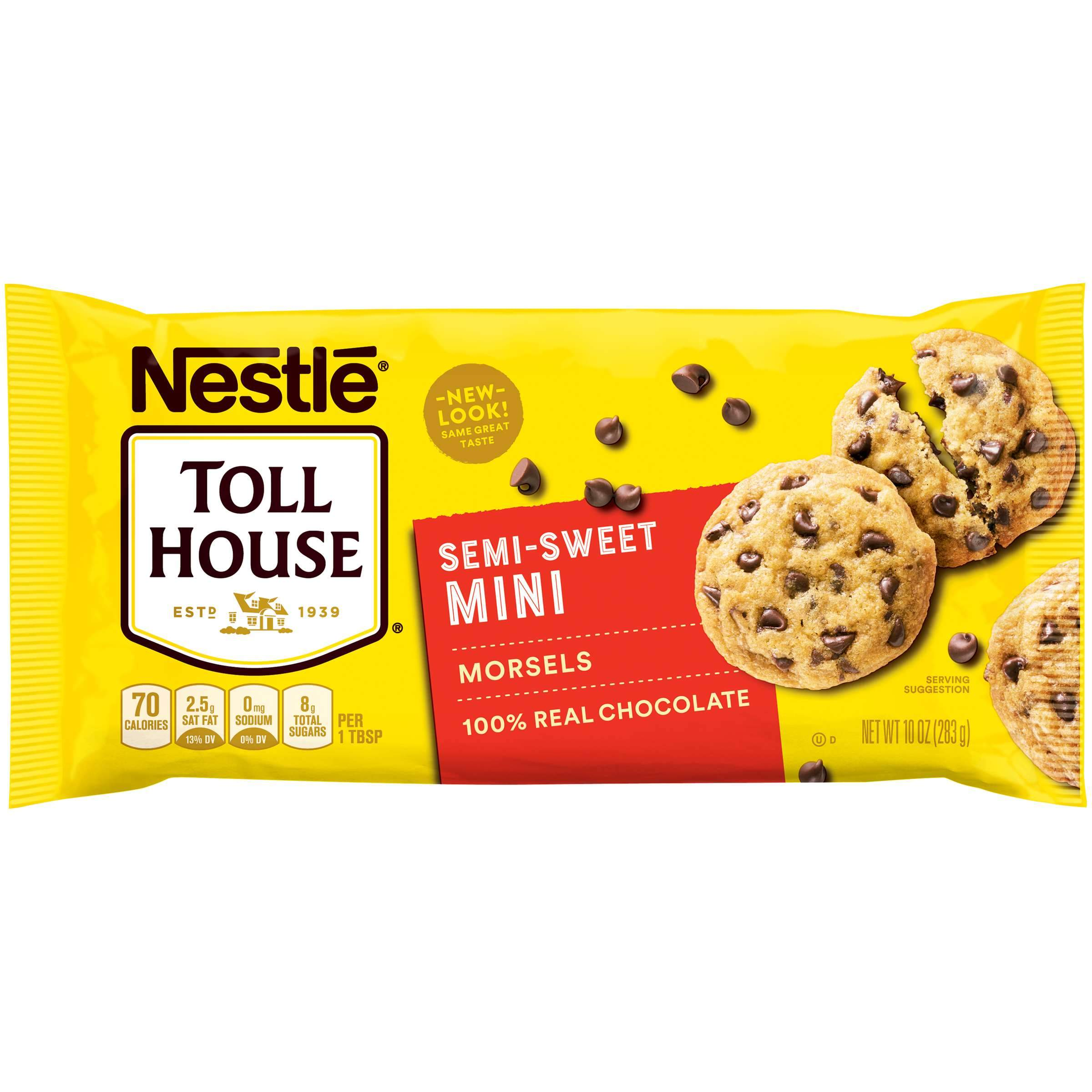 Nestlé Toll House Baking Morsels Toll House Semi-Sweet Mini 10 Ounce
