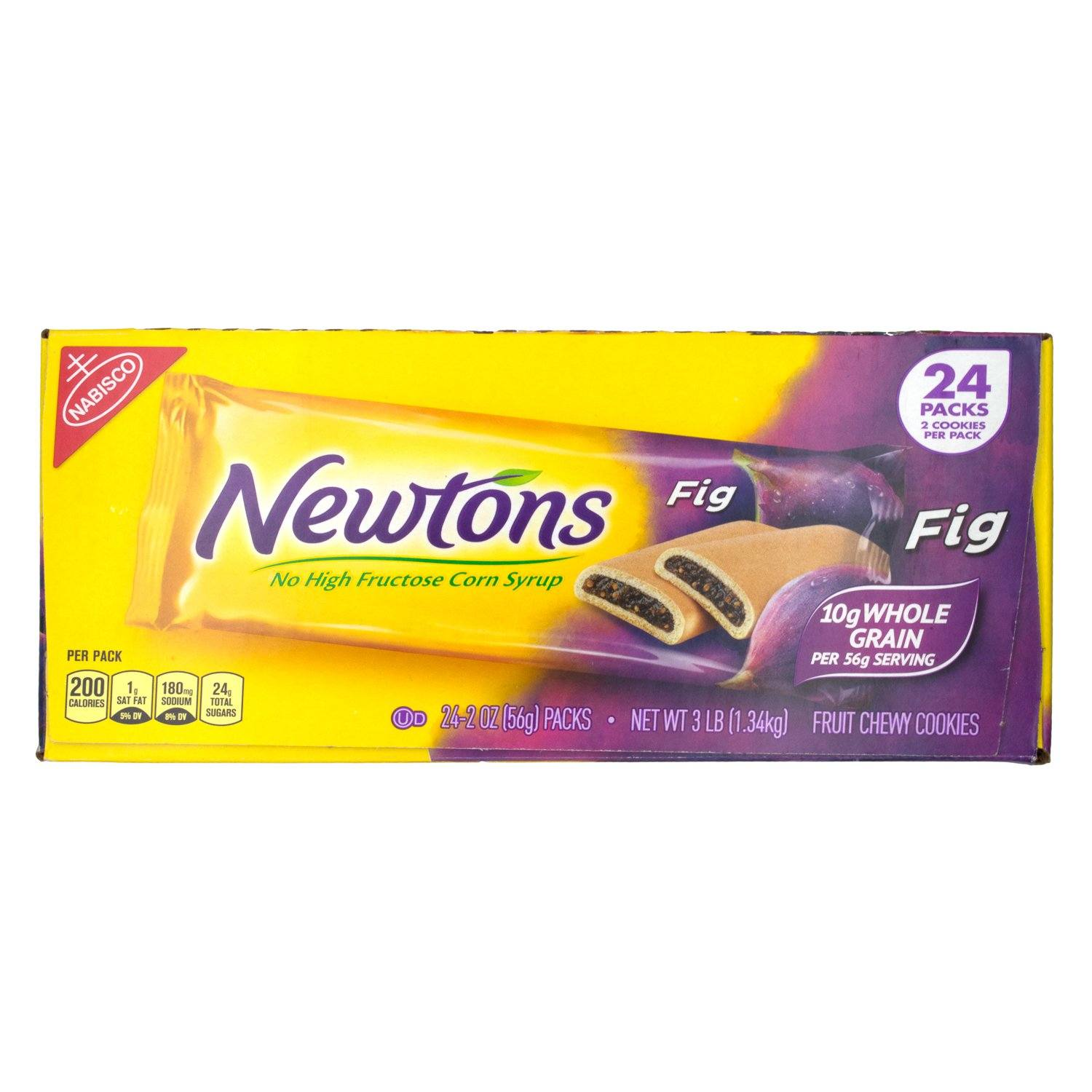 Newtons Soft and Chewy Cookies Newtons Fig 2 Oz-24 Count