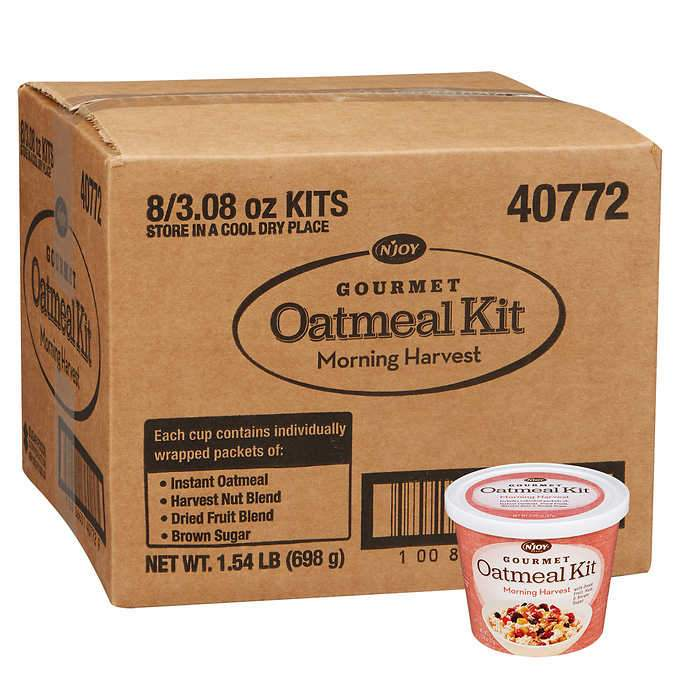 N'Joy Oatmeal Kit N'Joy Morning Harvest 3.08 Oz-8 Count