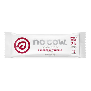 No Cow Plant Based Protein Bars No Cow Raspberry Truffle 2.12 Ounce