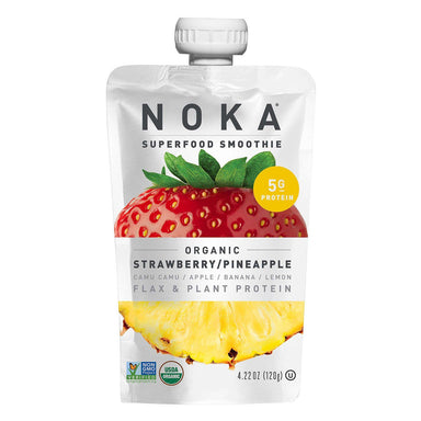 NOKA Superfood Smoothies NOKA Strawberry/Pineapple 4.22 Ounce