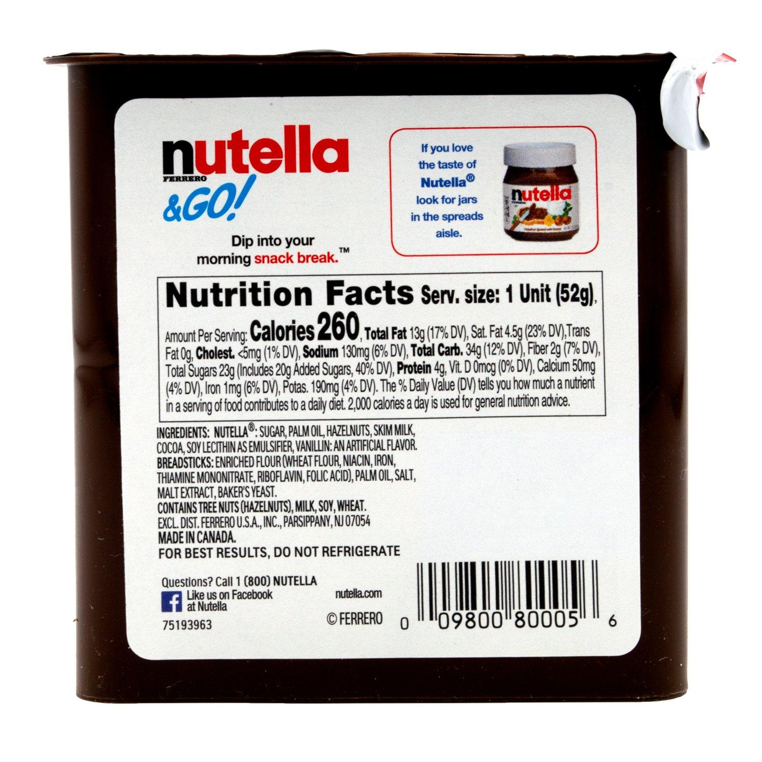 Nutella & Go Snack Pack Nutella