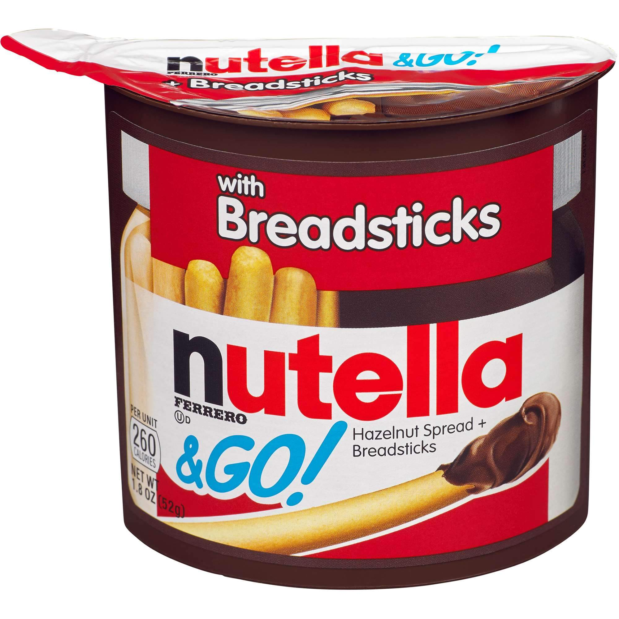 Nutella & Go Snack Pack Nutella Breadsticks 1.8 Ounce