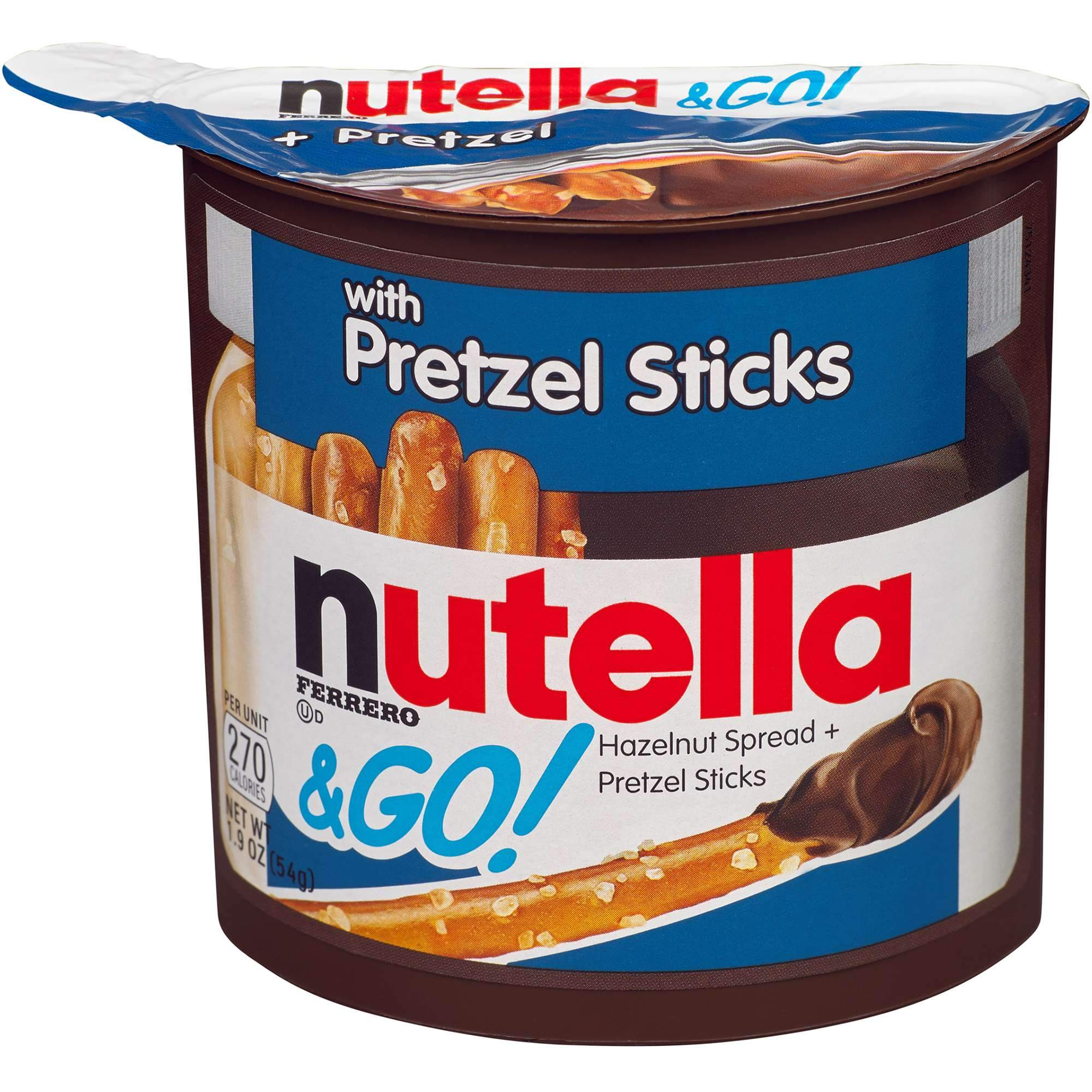 Nutella & Go Snack Pack Nutella Pretzel Sticks 1.9 Ounce