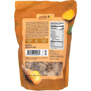 Nutty & Fruity Dried Young Ginger Nutty & Fruity