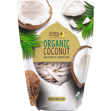 Nutty & Fruity Organic Coconut Strips Nutty & Fruity 18 Ounce