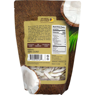 Nutty & Fruity Organic Coconut Strips Nutty & Fruity